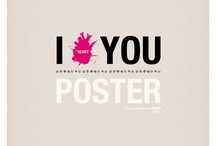 I Heart You Poster / my poster work