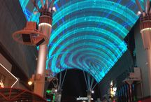 Fremont Street Experience / Whatever goes on at the Fremont Street Experience, Downtown  #LoveVegas / by Wolf 'Hugh' O'Rourc