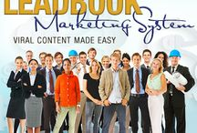 The Leadbook Marketing System / A #Leadbook is a digital product specifically designed to get attention and to be shared across social media platforms. Offering real value is the best way to build your business client list. Give them a reason to know your name. www.LeadbookSystem.com