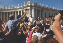 Pilgrimage Group Photos / Photos of Groups on a Pilgrimage or Choir Tour