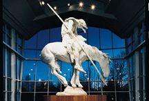koń na pomniku