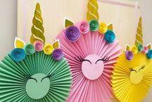 cumpleaños 5 unicornio