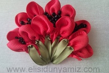 Ribbon Embroidery / by Rita Sundin