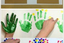 Hand and foot print ideas