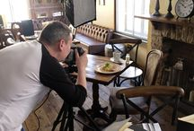 Abel Heywood Behind the Scenes / We recently photographed the new menu at the Abel Heywood in Manchester's Northern Quarter. Here is a look behind the scenes.