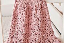 vestidos fáciles al crochet para niñaa lidia