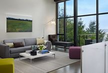 Ideal house; internal living spaces