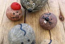 Stenen verven
