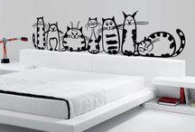Кошки в интерьере