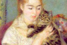 chArt / les chats dans le monde de l'Art