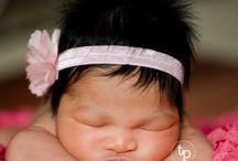 Newborn Photo Inspiration / Location based newborn photos