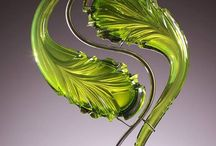 Kerrick Johnson's glass work