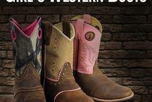 Girls Western Boots