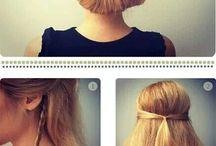 easy hair do :) / by Anne Line Kvernmo