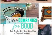 Ethical Shopping Guides / Great guides to shopping ethically from companies that are Fair Trade, Direct Trade, Sweatshop-Free, socially responsible, environmentally friendly, give back, made in U.S.A. and more!  www.changetheworldbyhowyoushop.com