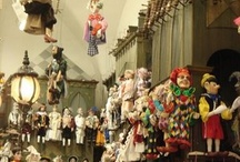 Marionettes,  Art Dolls and Paper Dolls / by Paula Stenberg