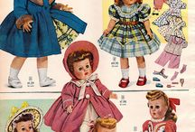 1950s doll patterns