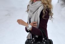 Winter inspired style