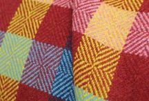 Tartan Fabric / This range of tartan fabric has been woven at the historic Knockando Woolmill.  www.kwc.co.uk