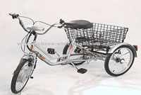 electric cargo bikes / A new type of electric cargo bikes, characterized by larger can carry more goods and not easy to tip over.