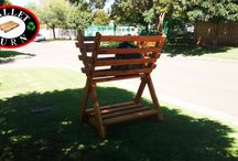 Garden and out door / From Picket fencing to trellises, braai boxes garden boxes and more