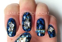 Beauty: Nails / All sorts of nail colors and designs! / by Marlyn Martinez-Hunter