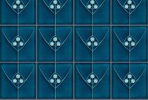 Tiles (Blue)