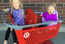 Buggy Bench Cuties / See how parents use their Buggy Bench while shopping with their little ones!