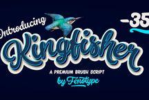 Kingfisher Typeface