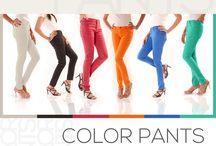 ZEEN - Five Pockets Color Pants.!! / Designer Color Pants ZEEN By CAMBRIDGE.