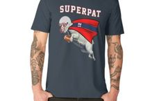 New England Patriots / Unofficial merchandise on New England Patriots and Tom Brady fans.