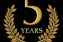We Turn 5. Yay! / Our 5th year of book blog reviews: 2017