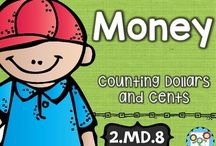 Money / If you're teaching money in your classroom or homeschool, this is the board for you! You'll find great hands-on activities, ideas, resources, FREE downloads, and more! Great for your preschool, 1st, 2nd, 3rd, 4th, 5th, or 6th grade students!
