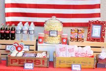 American Party Theme