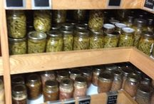 HOMESTEAD PANTRY / Inspiration for a gorgeous, well-organized, and well-stocked homestead pantry. / by Teri Page, Homestead Honey