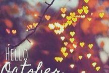 O C T O B E R  / Hello October