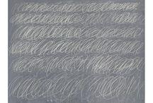 Blackboard art Cy Twombly