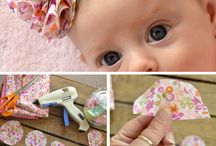 DIY girls headband, bows, and etc