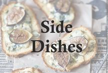 Side Dishes / Sides Sides and Sides. Vegetables, grains, cheese, breads, fruit, salads. / by Luci Petlack (Luci's Morsels)