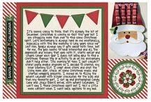December Daily 2014 / A collection of layouts combining a December Daily and Journal Your Christmas project for 2014.