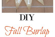 Fall DIY Decor / Pumpkins, apples, fall colored leaves and more! Gorgeous fall decor for any budget. Make your own Fall Home Decor Items. Fall Decor Crafts. Fall Crafts.