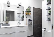 Badeværelser fra AUBO Køkken & Bad / Badeværelser for enhver smag og enhver pengepung. Hos AUBO har vi et badeværelse, der passer lige til dig.