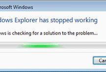Windows explorer crashes or freezes