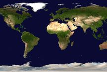 La Terre, océans et continents