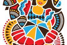 arte popular brasileira. ..