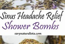 DIY Essential Oil Shower Bombs