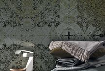 Collection 2014 / Inkiostro Bianco walls and floors decorative and artistic coverings. Inkiostro Bianco it's a brand, an ambitious project, a laboratory of ideas applied to the planning and production of decorative graphics that has as its goal the re-interpretation of the wallpaper concept.