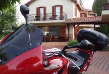 Hullam Villa motorcycle friendly place / Motorcycles welcome:) It is a friendly place!