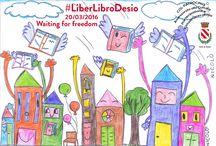 20-03-2016 Liberlibri / Libri liberi planano sulla città di desio