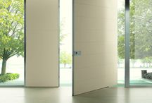 Freedom of dimension in Doors / Large sizes doors that amplify project creativity. The extreme compositional freedom of our doors allows us to create a product out of standard or based on customer design for a unique solution.  www.oikos.it
